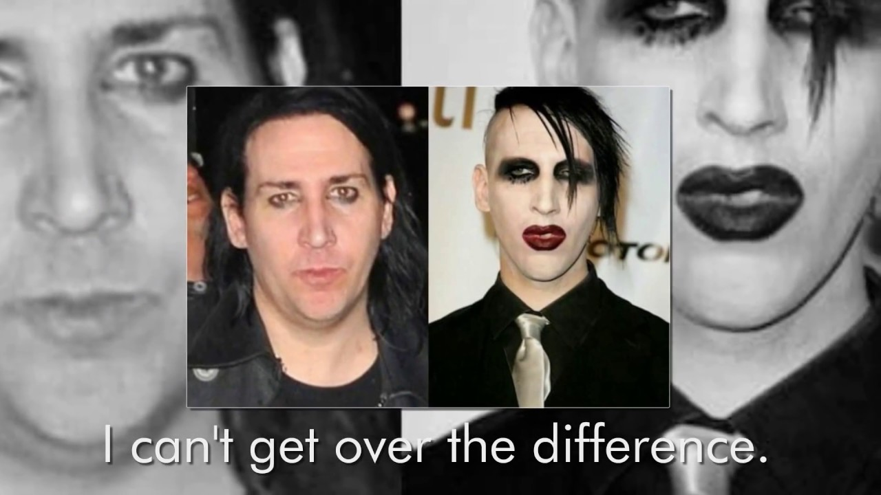 Marilyn Manson Without Makeup Show Him In A Completely Different