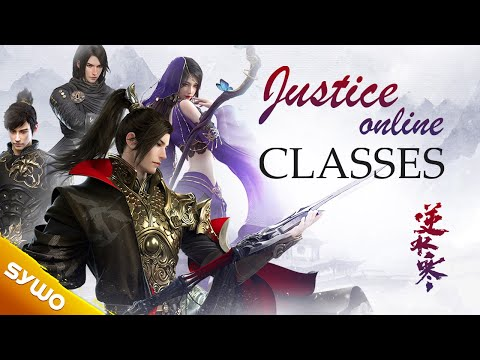 New MMORPG Justice Online | Classes Overview