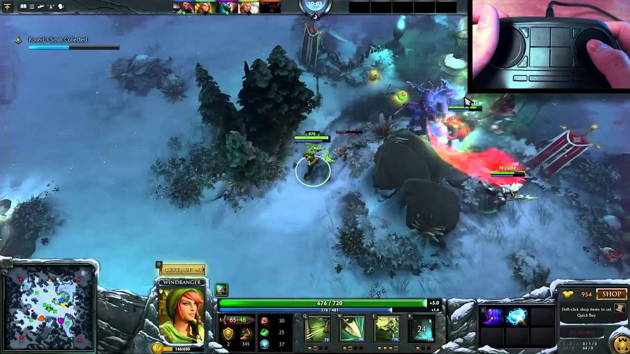 steam controller dota 2 wraith night youtube