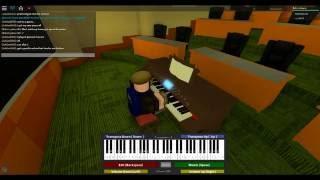 [Roblox Piano Cover] To Zanarkand