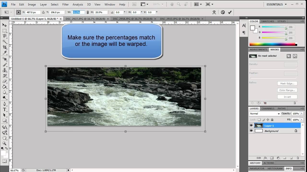 Adobe muse slideshow with text