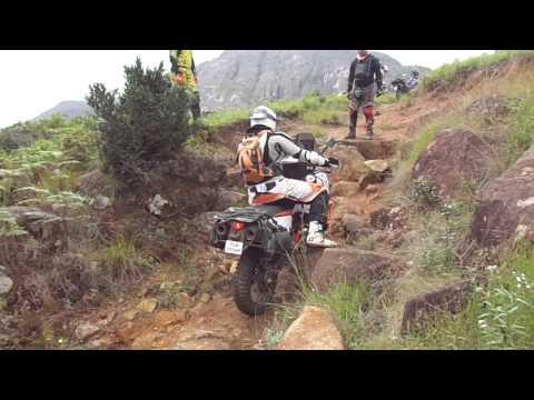 Khwela Adventures KTM 990 Adventure Rocky Ride in Swaziland.