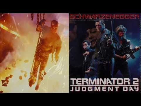 ♫ [1991] Terminator 2: Judgment Day | Brad Fiedel - 17 - ''Terminator Impaled'' mp3