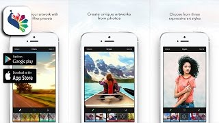 BeCasso – Transform photos into paintings - Photo & Video Application