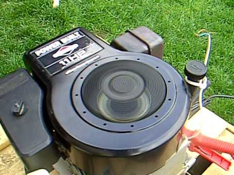 briggs stratton 11 hp carb problem youtube. Black Bedroom Furniture Sets. Home Design Ideas