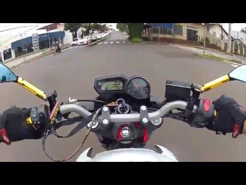 RENATO DA XJ6 - Indo pro CENTRO de Londrina !! Vem comigo !!