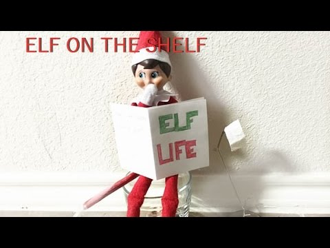 The Elf On The Shelf Caught Pooping Youtube