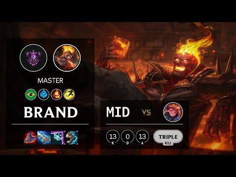Brand Mid Vs Zoe - BR Master Patch 10.4