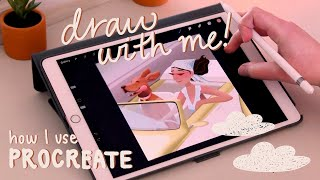 Hello! ✨ In this video I show you my complete digital illustration process using the app Procreate! I also share a few of my Procreate tips (including my favorite ...