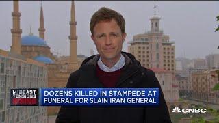 Dozens killed in stampede at General Qasem Soleimani funeral: Iranian TV