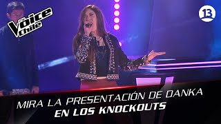 The Voice Chile | Danka Sepúlveda - Always on the run