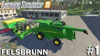 GETTING STARTED| Felsbrunn | Timelapse #1 | Farming Simulator 19