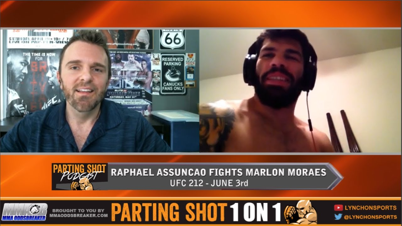 "UFC 212's Raphael Assuncao  on Marlon Morales ""It's a good fight for the fans"""