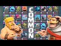 ALL COMMONS LEVEL 13 :: Clash Royale :: COMMON DECK CHALLENGE!