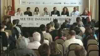 ALL THE INVISIBLE CHILDREN PRESS CONFERENCE CANNES - 6