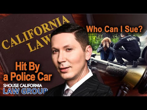 Hit by a police car? Filing a wrongful death or injury lawsuit