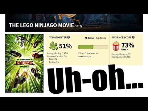 LEGO Ninjago Movie on Rotten Tomatoes - What EVERYONE can learn from it...