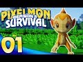 Pixelmon Survival S2 Let's Play - Ep.1 | THE NEXT BLOCKY ADVENTURE!!!
