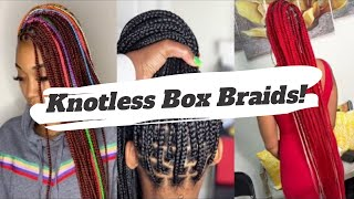 BEST KNOTLESS BOX BRAIDS COMPILATION | BOX BRAIDS (2019)