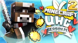 Minecraft CUBE UHC Season 14 - SURPRISE VOICE SCARES ME!! - Episode 2 ( Ultra Hardcore )