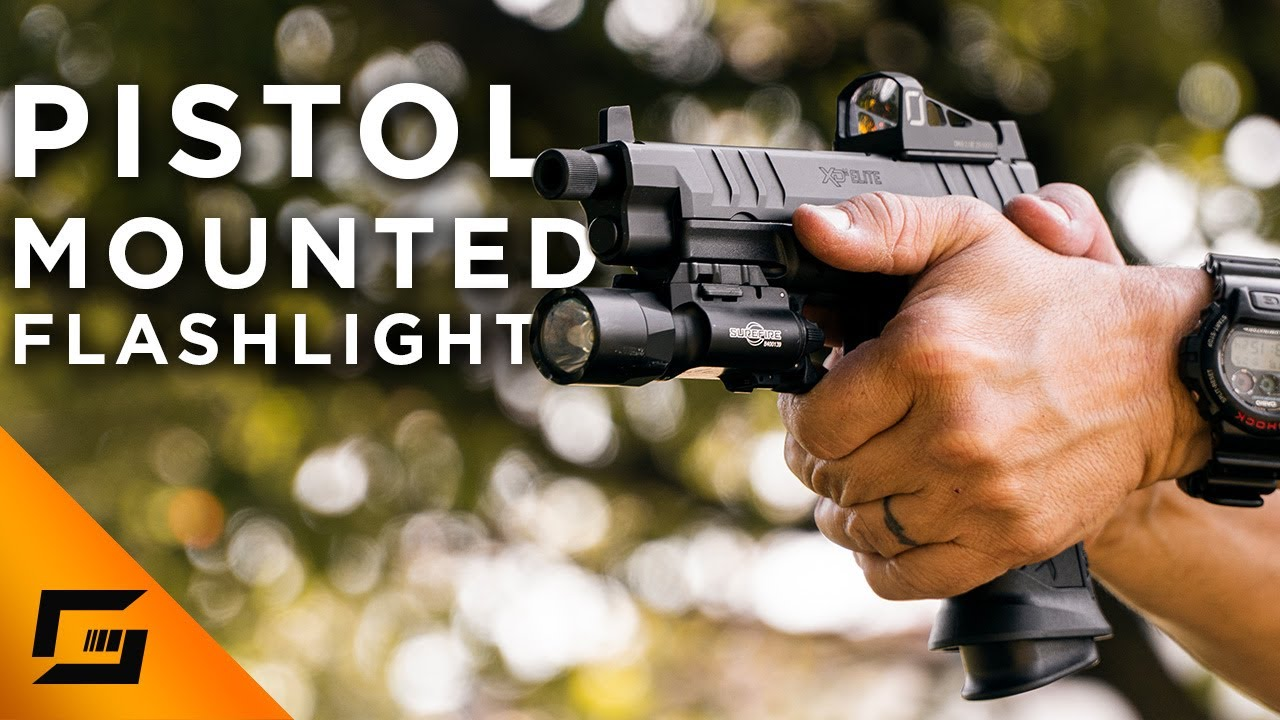 Pistol Mounted Lights & How To Use Them