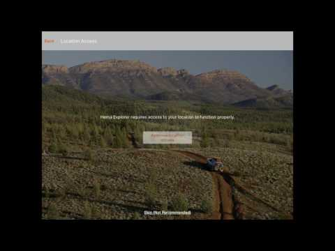 Hema Explorer Quick Start Guide | Australia Offline Adventure Navigation