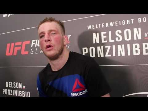 Post-Fight Interview with Danny Henry at UFC Fight Night Glasgow