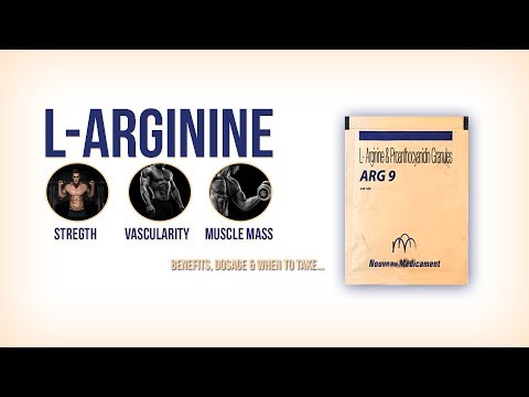 Arg 9 - L-Arginine Supplement to increase Strength, Vascularity & Muscle Mass