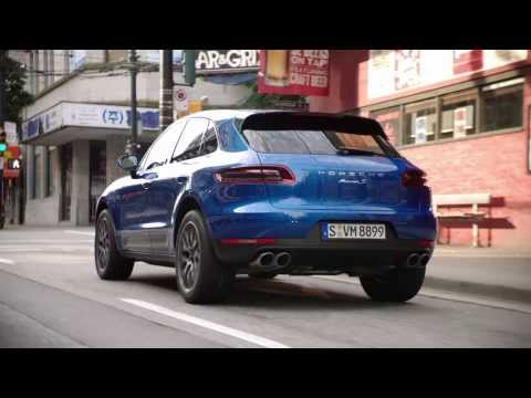 The new Porsche Macan: First Driving Footage.