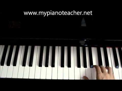 C Major Broken Chord (Grade 1)