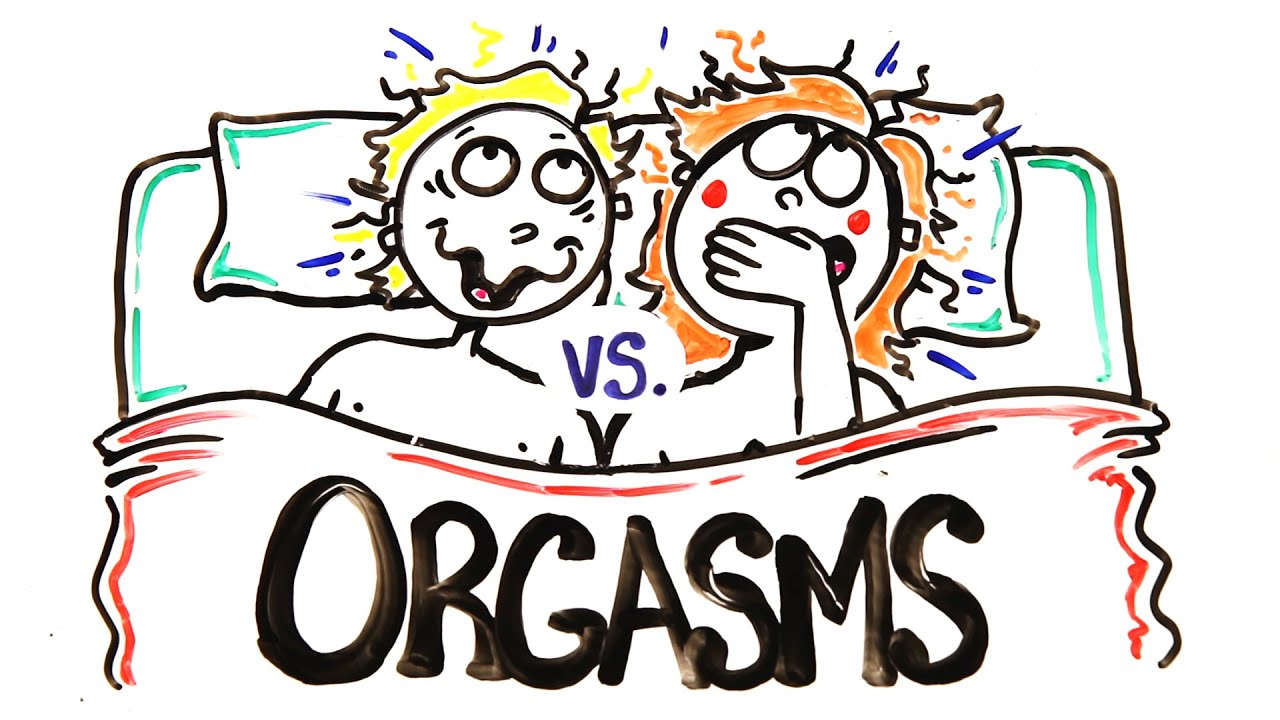 What women feel when orgasm
