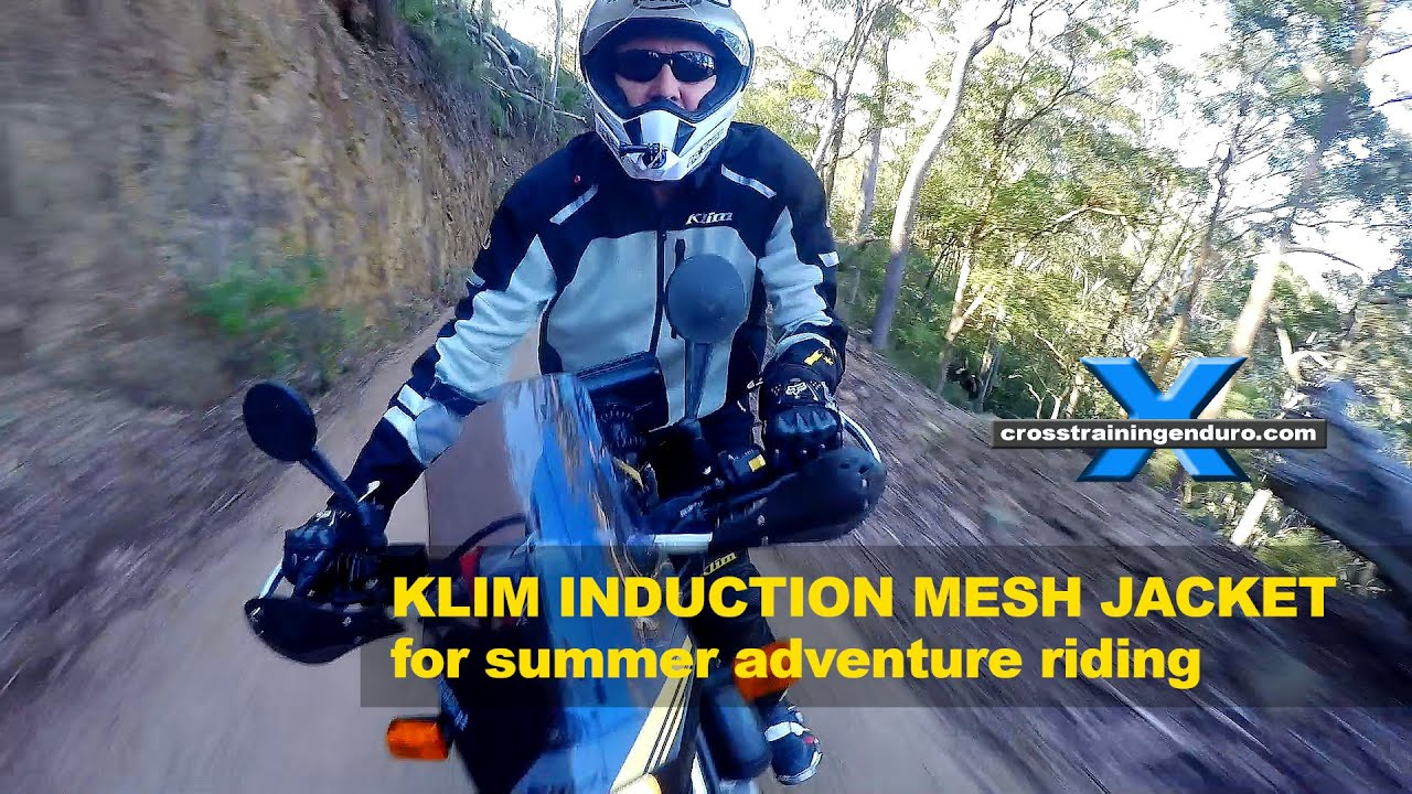 KLIM INDUCTION REVIEW: BEST MESH JACKET FOR DUAL SPORT RIDING? Cross Training Adventure