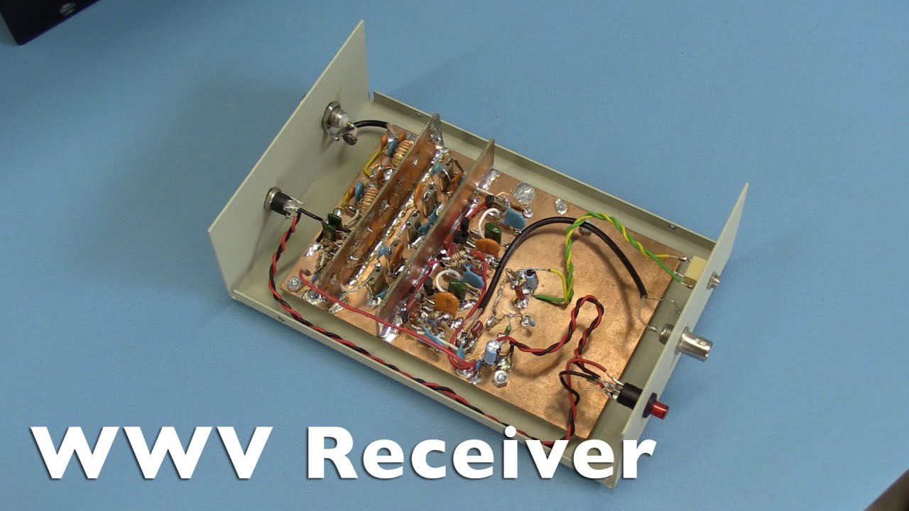 WWV Receiver by Aaron Parks