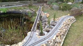 Beginner LGB garden railway outlet - Einsteiger Gartenbahn in der Lüneburger Heide