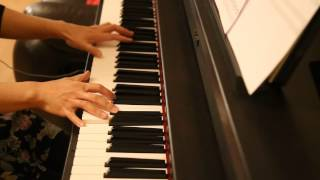 Ben Folds Five - Brick (piano cover)