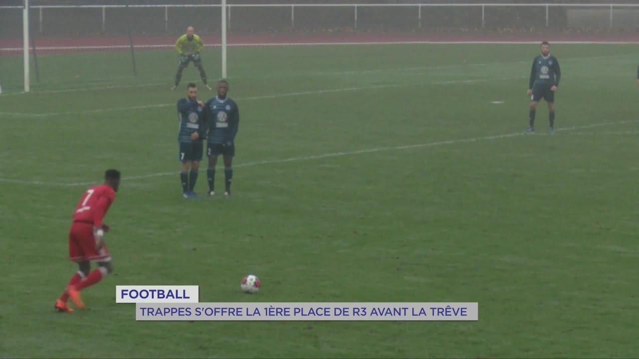 Yvelines | Football : Trappes s'offre la 1ère place de R3 avant la trêve