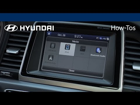 How to play music using Apple iPod® feature | Hyundai