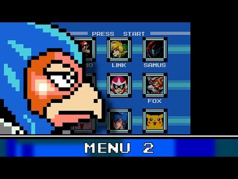 Menu 2 8 Bit Remix - Super Smash Bros. Melee