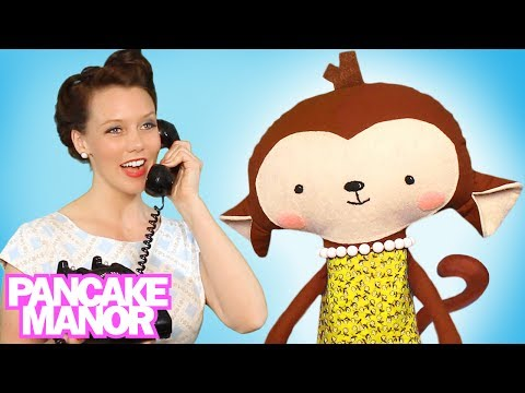 FIVE LITTLE MONKEYS JUMPING ON THE BED  ♫ | Nursery Rhyme | Kids Songs | Pancake Manor