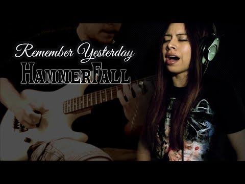 REMEMBER YESTERDAY - HAMMERFALL ( Vocal/Guitar Cover)