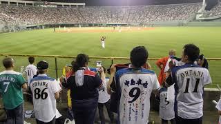 2017年9月5日に富山アルペンスタジアムにて開催された日本ハムvs東北楽...