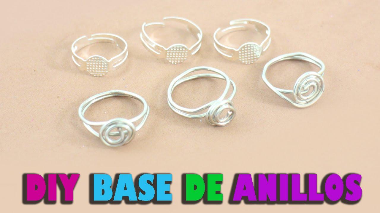 d1ebde27207b Cómo hacer una base de anillos ajustable casera