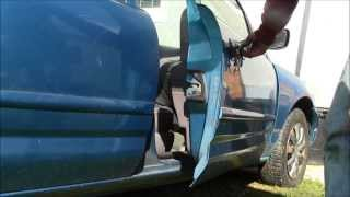How to Open Passenger, Rear, and Driver Doors