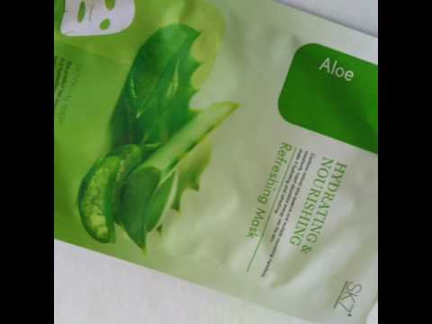 Aloe Refreshing Mask from SK7