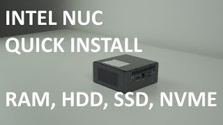 How To Setup Intel Nuc