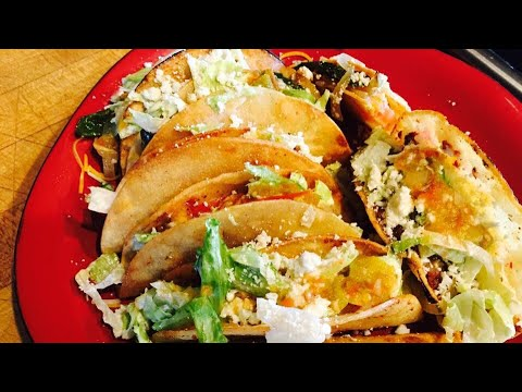 Potato Tacos and Chorizo Recipe