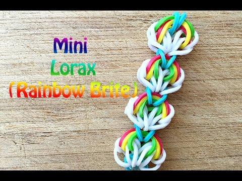 Rainbow Loom: Easy Rainbow Brite Bracelet