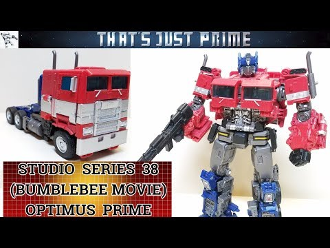 "Transformers Studio Series 38 (Bumbee Movie) OPTIMUS PRIME Review! ""That's Just Prime!"" Ep. 180!"