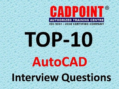 autocad interview questions and answers cadpoint hyderabad youtube rh youtube com Interview Questions and Answers Examples autocad draftsman interview questions and answers pdf