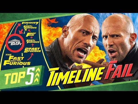 5 dumme Fails der Fast & Furious Reihe + Hobbs & Shaw